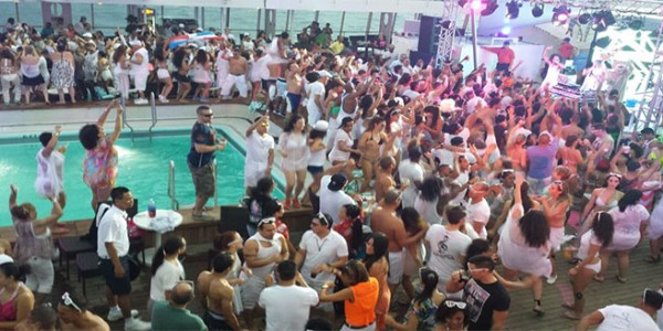 Pool Party Onboard